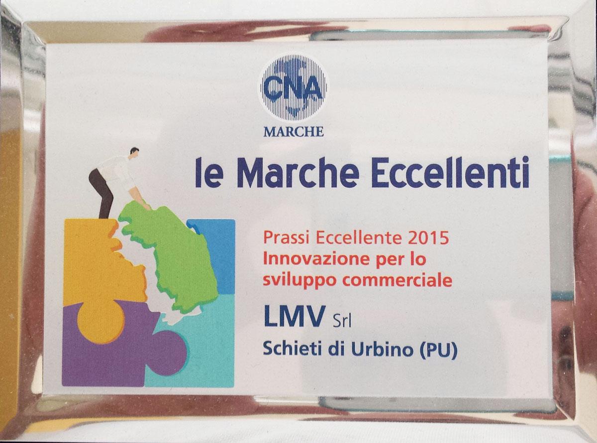 """Riconoscimento """"Le Marche Eccellenti"""""""